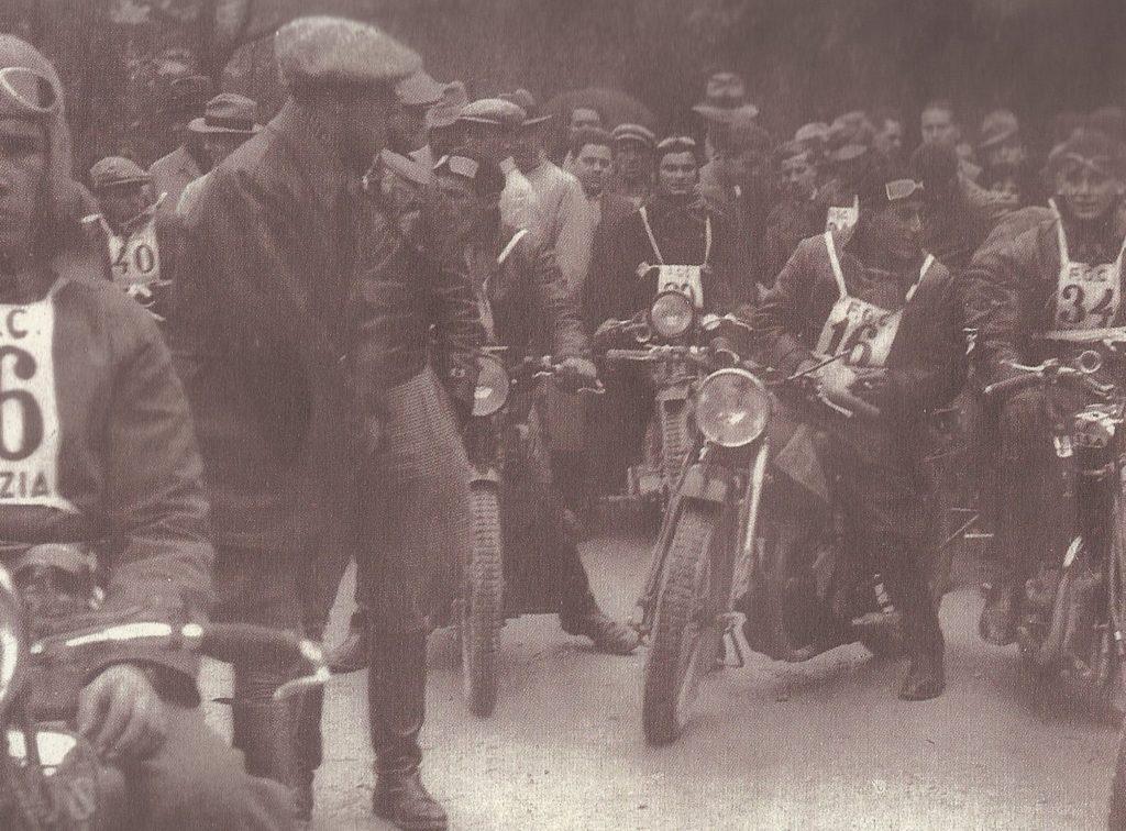 1934 marcia regolarità