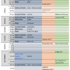 Nuovo Calendario Stagione 2021 Enduro